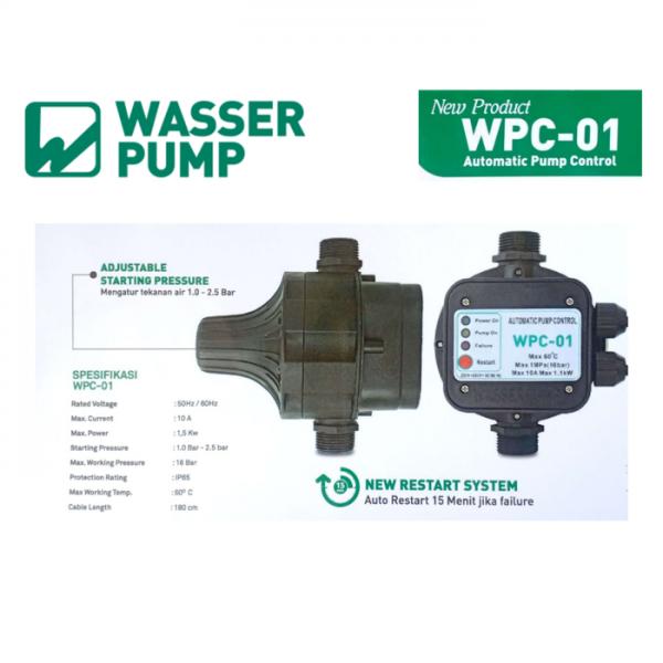 Mengatasi Pompa Berisik Dengan Pressure Control Wasser