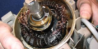 Mesin Pompa Air Terbakar Tercium Bau Hangus